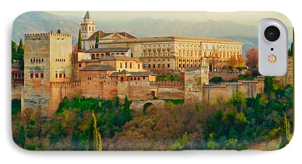 The Alhambra  IPhone Case by Rita Mueller