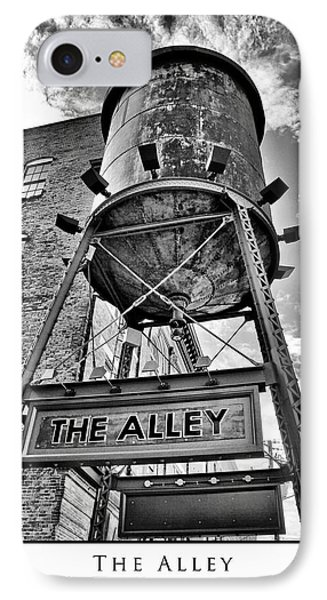 IPhone Case featuring the digital art The Alley  by Greg Sharpe