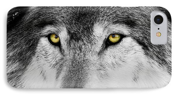 IPhone Case featuring the photograph The Alpha Portrait by Mircea Costina Photography
