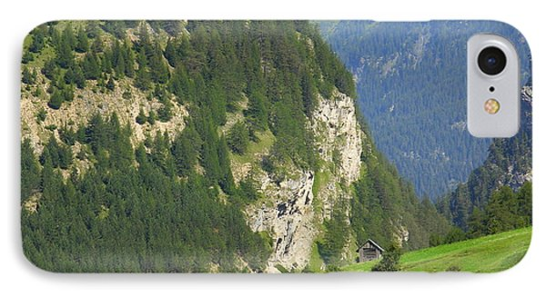 The Alps In Spring IPhone Case