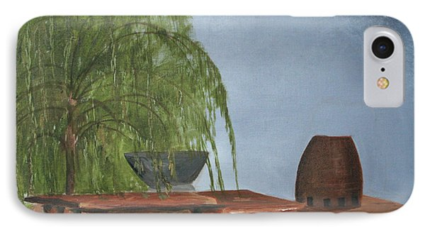 IPhone Case featuring the painting The Alter by Jane Autry
