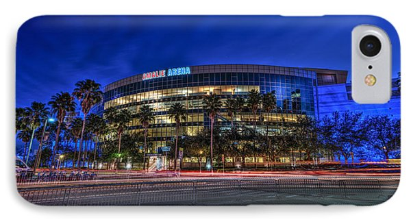 The Amalie Arena IPhone Case by Marvin Spates