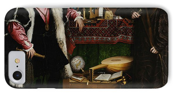 The Ambassadors IPhone Case by Hans Holbein the Younger