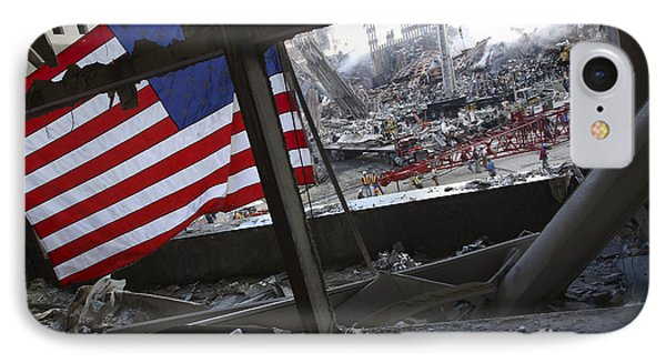 The American Flag Is Prominent Amongst Phone Case by Stocktrek Images