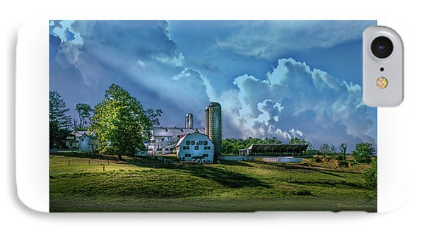 The Amish Farm IPhone Case by Marvin Spates