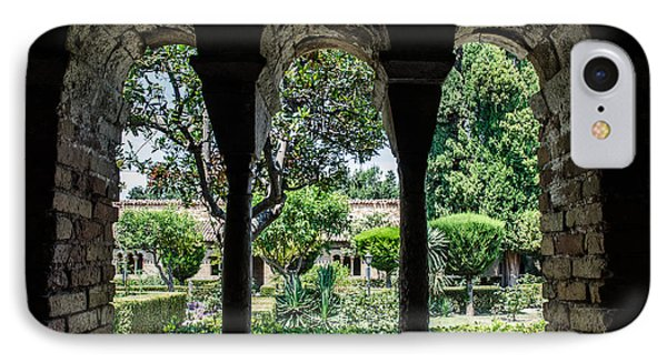 The Ancient Cloister IPhone Case by Andrea Mazzocchetti