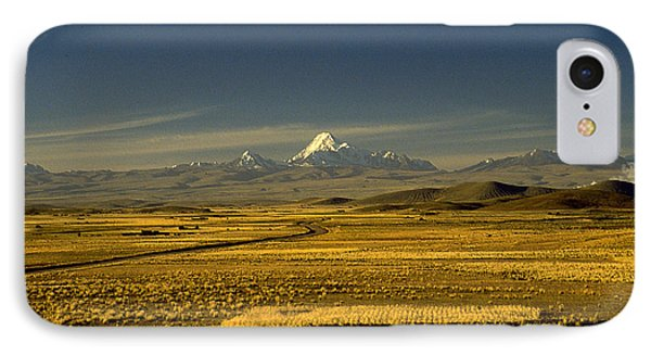 The Andes IPhone Case by Michael Mogensen