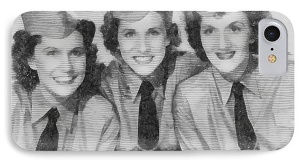 The Andrews Sisters IPhone Case by John Springfield