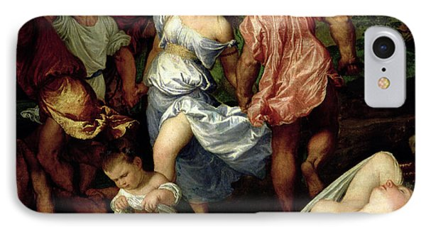 The Andrians Phone Case by Titian