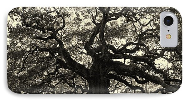 The Angel Oak Phone Case by Susanne Van Hulst