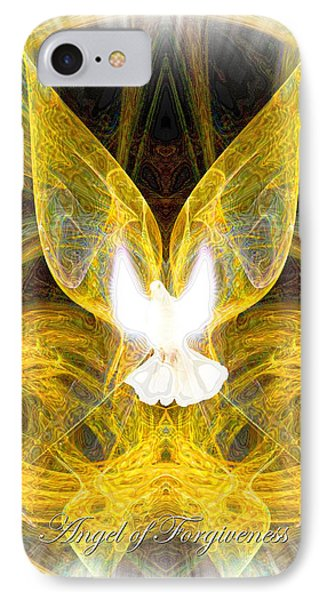 The Angel Of Forgiveness IPhone Case by Diana Haronis