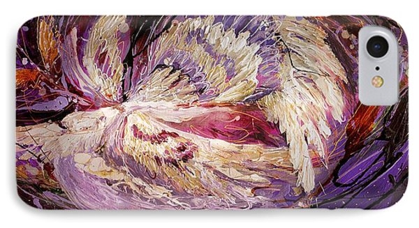 The Angel Wings #8 The Dance Of Spirit IPhone Case by Elena Kotliarker