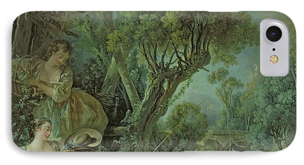 The Angler Phone Case by Francois Boucher