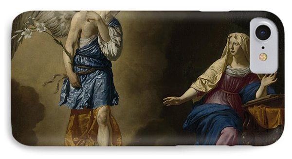 The Annunciation IPhone Case by Adriaen van de Velde