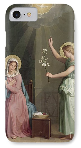 Dove iPhone 7 Case - The Annunciation by Auguste Pichon