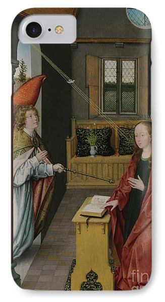 The Annunciation IPhone Case by Jan Provost