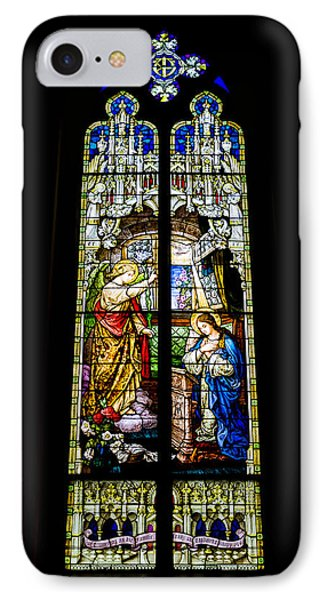 The Annunciation - St Mary's Church IPhone Case by Stephen Stookey