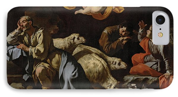 The Annunciation To The Shepherds IPhone Case by Master of the Annunciation to the Shepherds