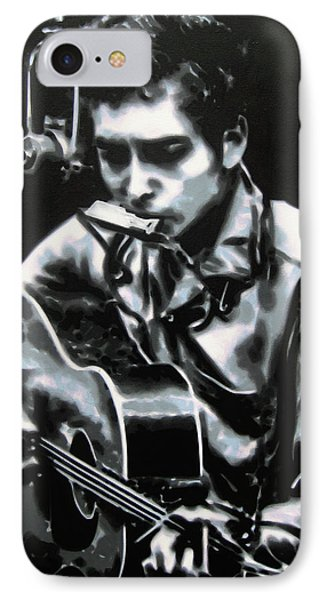 The Answer My Friend Is Blowin In The Wind Phone Case by Luis Ludzska