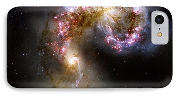 The Antennae Galaxies - Ngc 4038-4039 IPhone Case by Nicholas Burningham