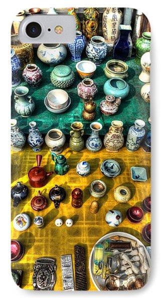The Antique Market Phone Case by Michael Garyet