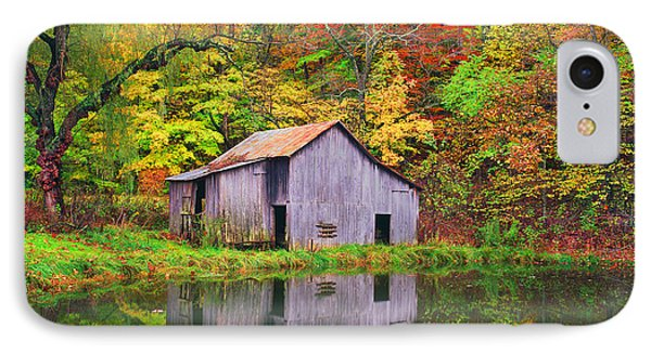 The Appalachian Reflection IPhone Case by Bijan Pirnia