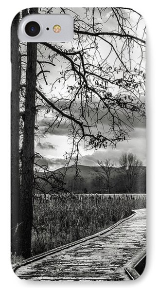IPhone Case featuring the photograph The Appalachian Trail by Eduard Moldoveanu