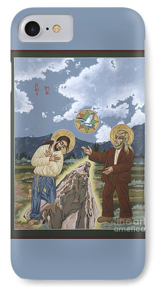 The Apparition Of The Holy Trinity In Arroyo Secco 147 IPhone Case
