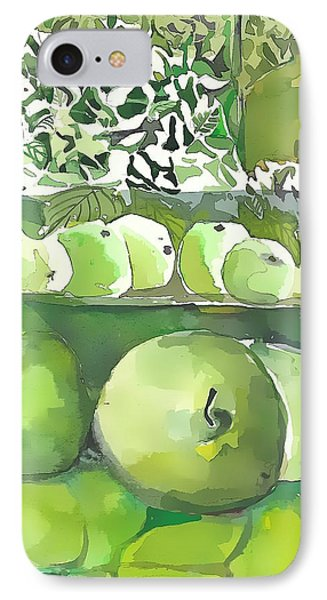 The Apple Closet IPhone Case by Mindy Newman