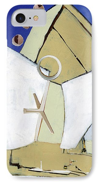 IPhone Case featuring the painting The Arc by Michal Mitak Mahgerefteh