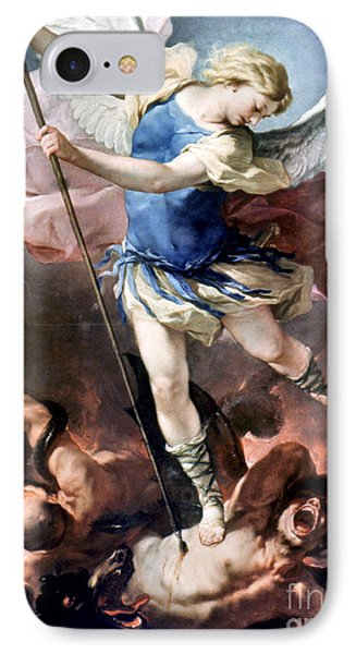 The Archangel Michael Phone Case by Granger