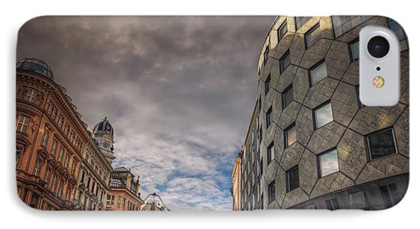 The Architecture Of Vienna  IPhone Case by Carol Japp