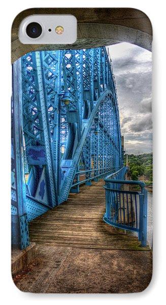 IPhone Case featuring the photograph The Archway Market Street Bridge John Ross Bridge Art by Reid Callaway