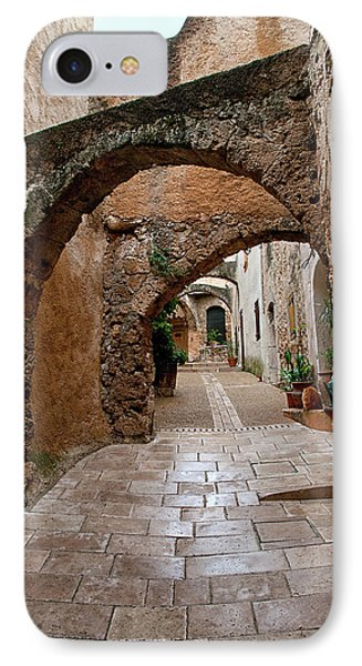 The Archways Of Villecroz IPhone Case by Jacqi Elmslie