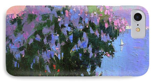 IPhone Case featuring the painting The Aroma Of Wandering by Anastasija Kraineva