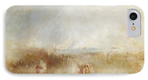 The Arrival Of Louis IPhone Case by Joseph Mallord William Turner