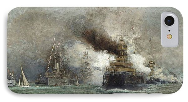 The Arrival Of The French Fleet In Cowes Roads IPhone Case