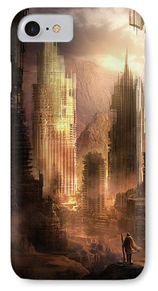 The Arrival Phone Case by Philip Straub