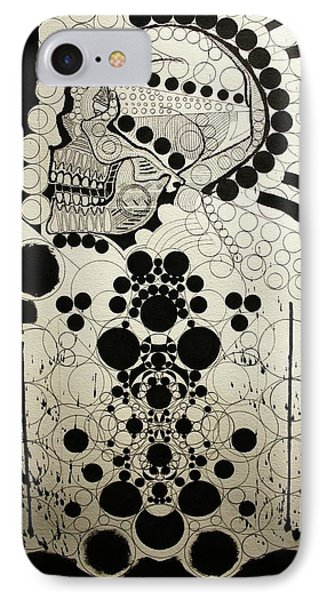 The Art Of Abstraction Phone Case by Michael Kulick