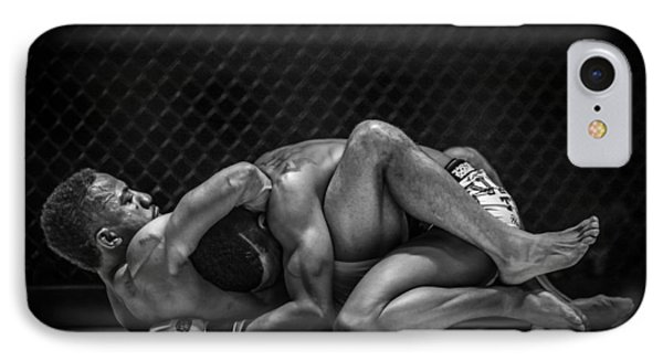 The Art Of The Fight IPhone Case by Ray Congrove