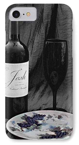 The Art Of Wine And Grapes IPhone Case by Sherry Hallemeier
