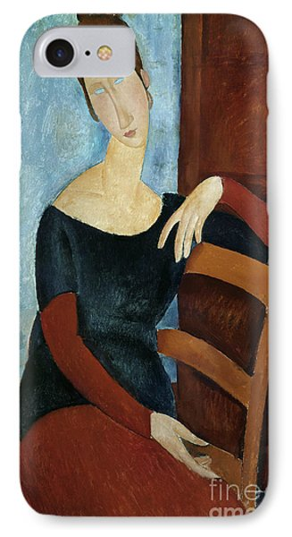 The Artist's Wife Phone Case by Amedeo Modigliani