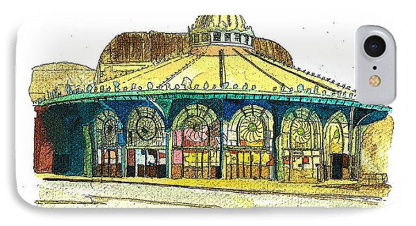 The Asbury Park Casino IPhone Case by Patricia Arroyo