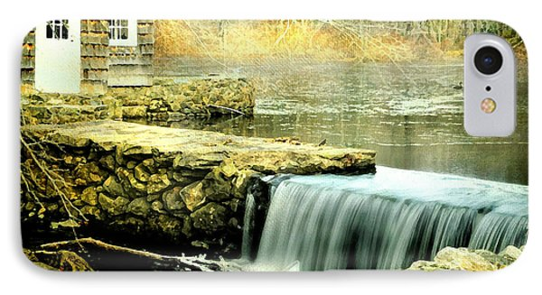 The Aspetuck Grist Mill IPhone Case by Diana Angstadt