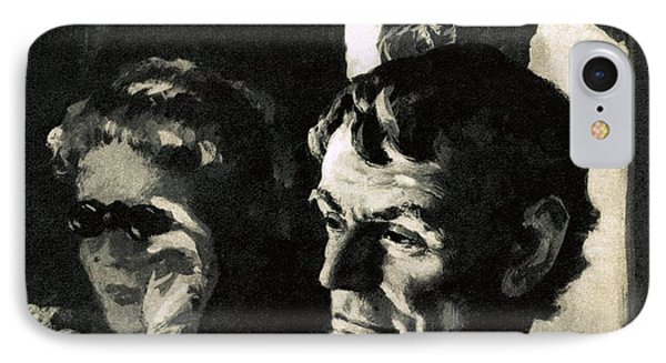 The Assassination Of Abraham Lincoln Phone Case by English School