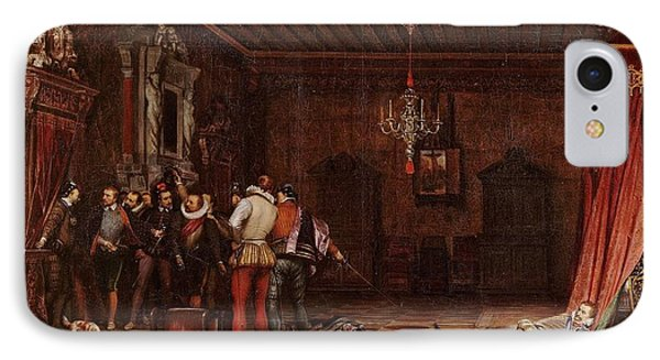The Assassination Of The Duc De Guise IPhone Case by MotionAge Designs