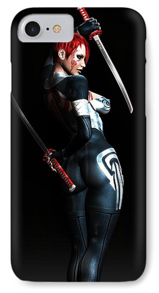 The Assassin's Code Phone Case by Alexander Butler