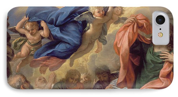 The Assumption Of The Virgin Phone Case by Guillaume Courtois