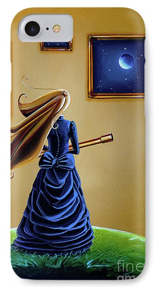 The Astronomer IPhone Case by Cindy Thornton