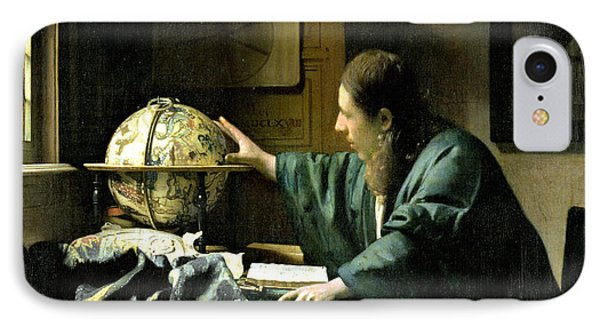 The Astronomer IPhone Case by Jan Vermeer